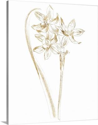 Gilded Botanical IV