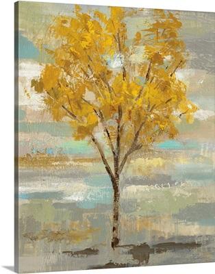Golden Tree and Fog I