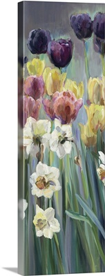 Grape Tulips Panel I
