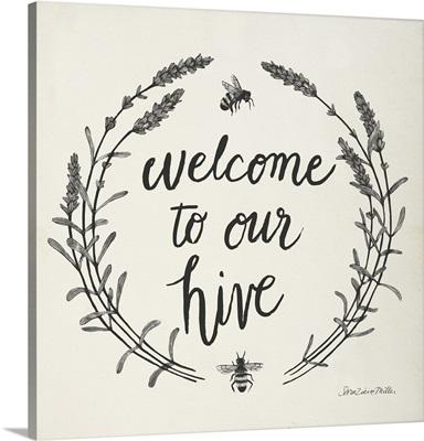 Happy To Bee Home II Words