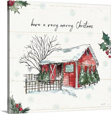 Holiday on the Farm IV Merry Christmas