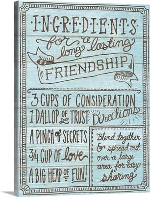 Ingredients For Life IV Blue