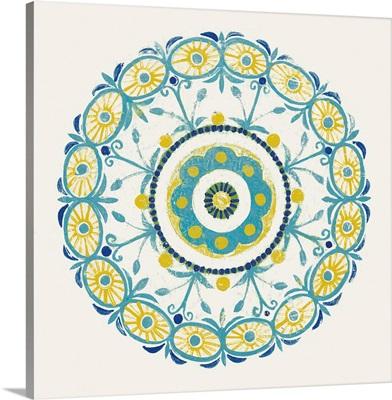 Lakai Circle I Blue and Yellow