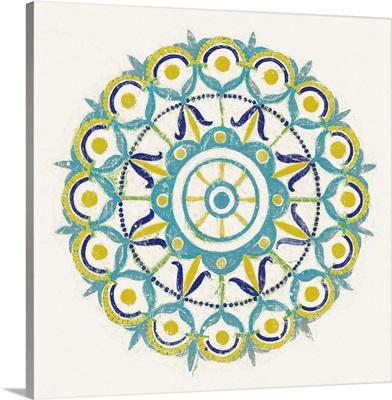 Lakai Circle V Blue and Yellow