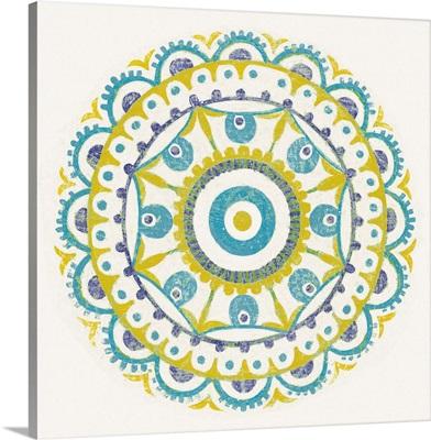Lakai Circle VI Blue and Yellow