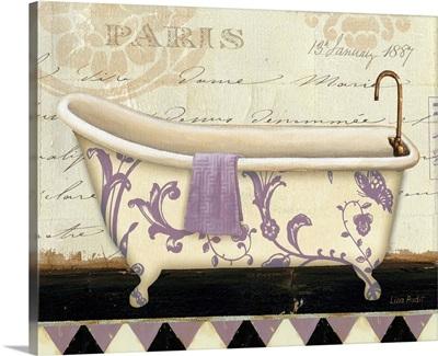 Lavender Marche de Fleurs Bath I