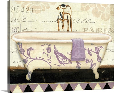 Lavender Marche de Fleurs Bath II
