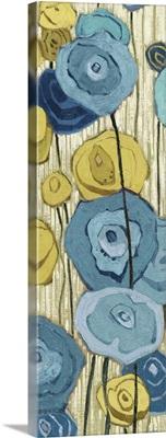 Lemongrass in Blue Panel II