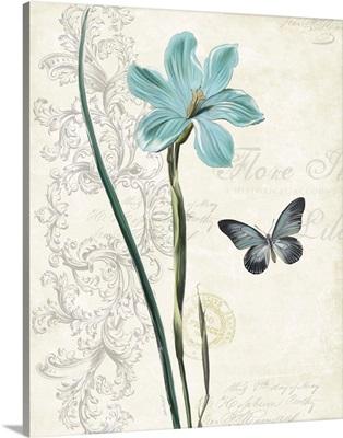Lila Bleu I