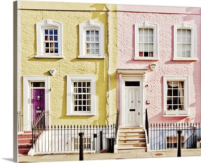 London Houses Spring