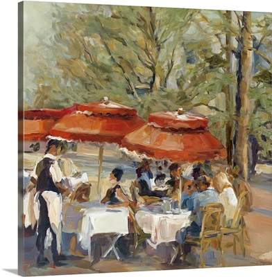 Lunch on the Champs Elysees