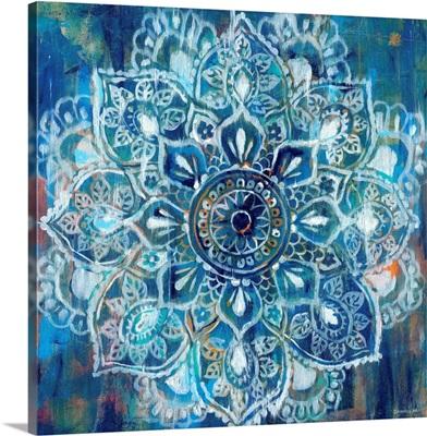 Mandala in Blue II