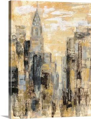 Manhattan Gray and Gold I