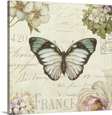 Marche aux Fleurs Butterfly II