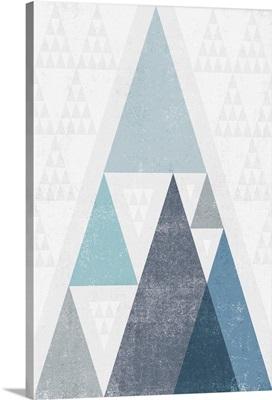 Mod Triangles III Blue