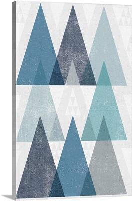 Mod Triangles IV Blue