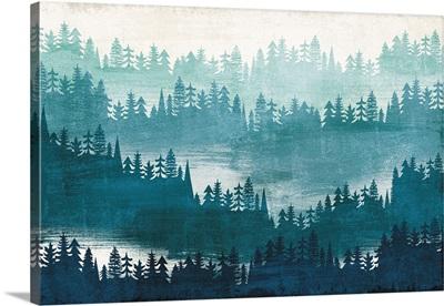 Mountainscape Blue