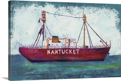 Nantucket Lightship Blue Green