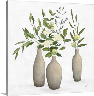 Natural Bouquet I White