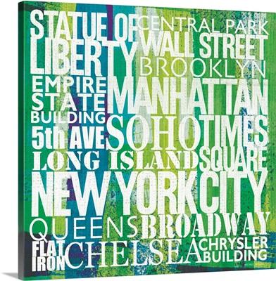 New York City Life Patterns I