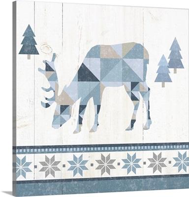 Nordic Geo Lodge Deer II