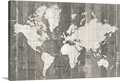 Old World Map Neutral