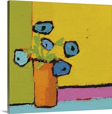 Orange Vase Bright