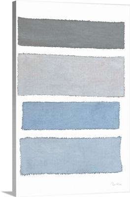 Painted Weaving I on White v2
