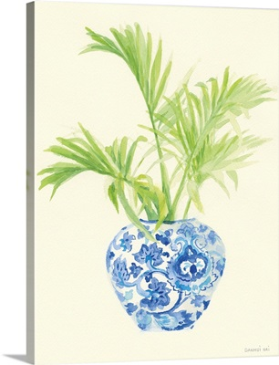 Palm Chinoiserie II