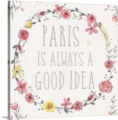Paris Blooms IV