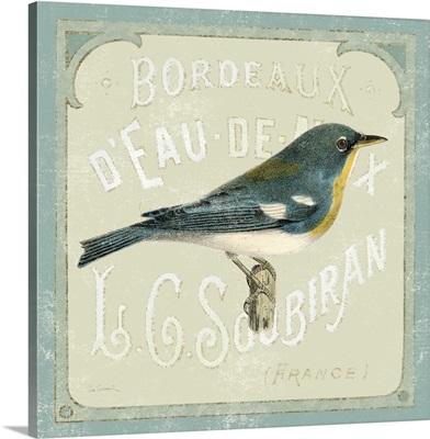 Parisian Bird I