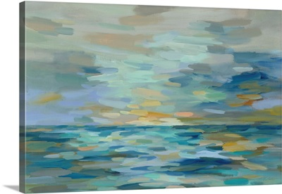 Pastel Blue Sea