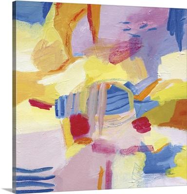Pastel Shades Abstract