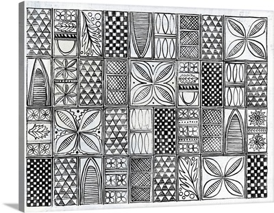 Patterns of the Amazon II BW