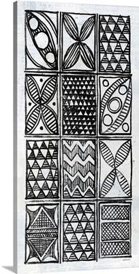 Patterns of the Amazon III BW