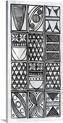 Patterns of the Amazon IV BW