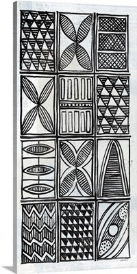 Patterns of the Amazon V BW