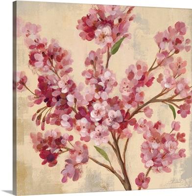 Pink Cherry Branch I