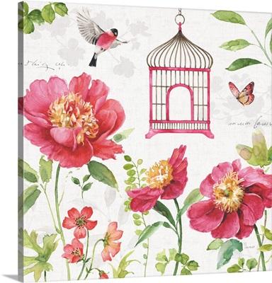 Pink Garden IV