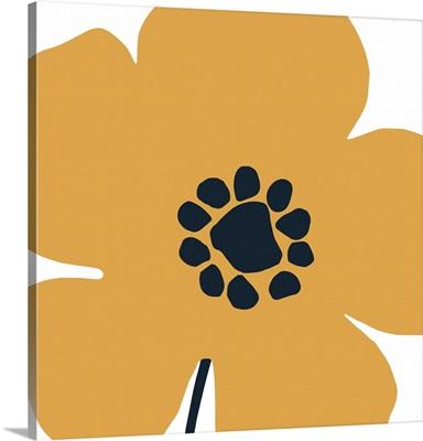 Pop Art Floral I Retro