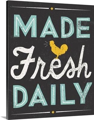Retro Diner - Made Fresh Daily