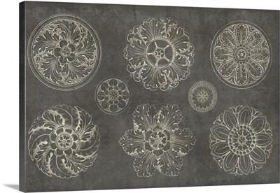 Rosette IX Gray