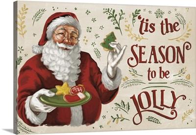 Santas List III Ivory
