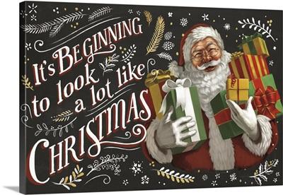 Santas List IV Black