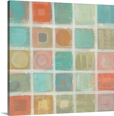 Sea Glass Mosaic Tile II