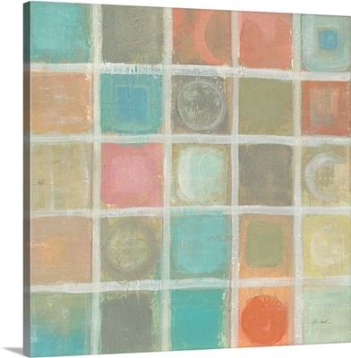 Sea Glass Mosaic Tile III