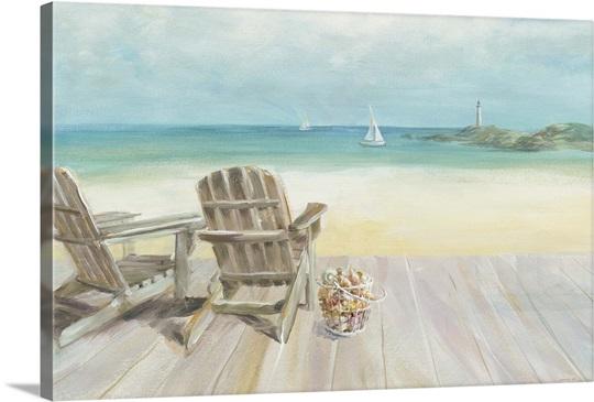 Seaside Morning no Window Wall Art, Canvas Prints, Framed Prints ...