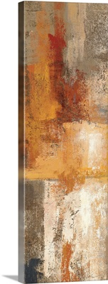 Silver and Amber Panel I
