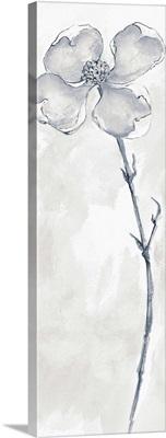Solitary Dogwood III Gray