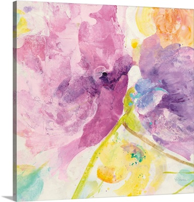 Spring Abstracts Florals I Crop